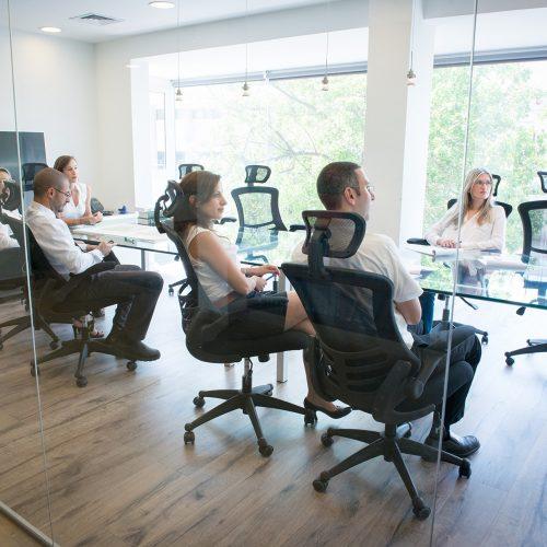 צוות עורכי הדין בהתייעצות כלל משרדית